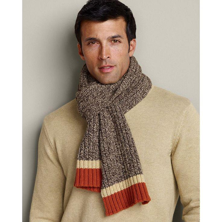 eddie bauer s wool ragg yarn scarf natu speaking of