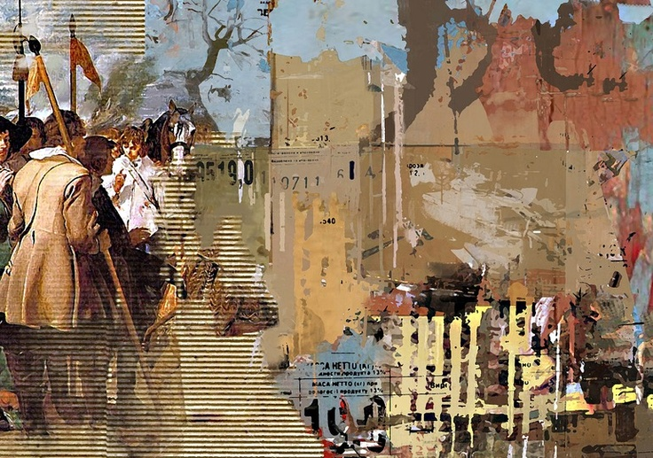 """Saatchi Online Artist: Serj Fedulov; Mixed Media, 2013, Painting """"On the base of the great masters. Velasquez . """""""