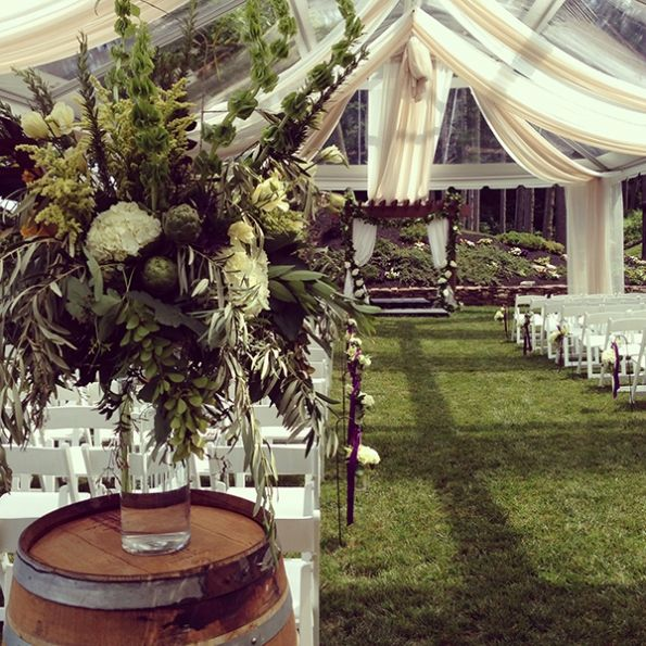 Wedding Halls In Long Island: Summer Wedding Flowers At The Monroe Golf Club