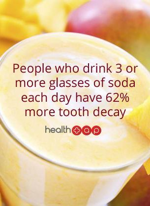 Fact: People who drink 3 or more glasses of soda each day have 62% more tooth decay. #jupiterdentist, #highamandsauchelli