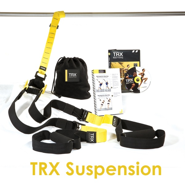 TRX Suspension Training Straps-One of my weight loss secrets!!  It's so convenient and I'm all about convenience! Lol