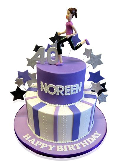 Keep Fit Birthday Cake Noreen May Be Turning 40 But She
