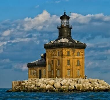 Toledo, Ohio lighthouse: Ohio, Lighthouses, Toledo Harbor, Lake Erie, Toledo Lighthouse, Light Houses