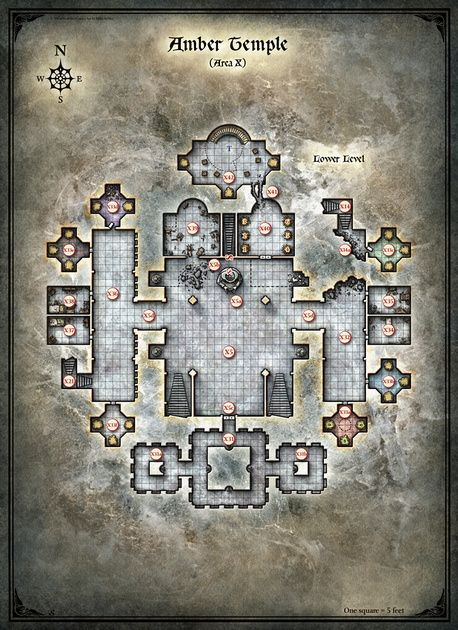 Curse of Strahd; Amber Temple 2 (Digital DM & Player Versions) $1.75