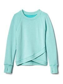 Athleta Girl Criss Cross My Heart Sweatshirt $39 avail. in six colors