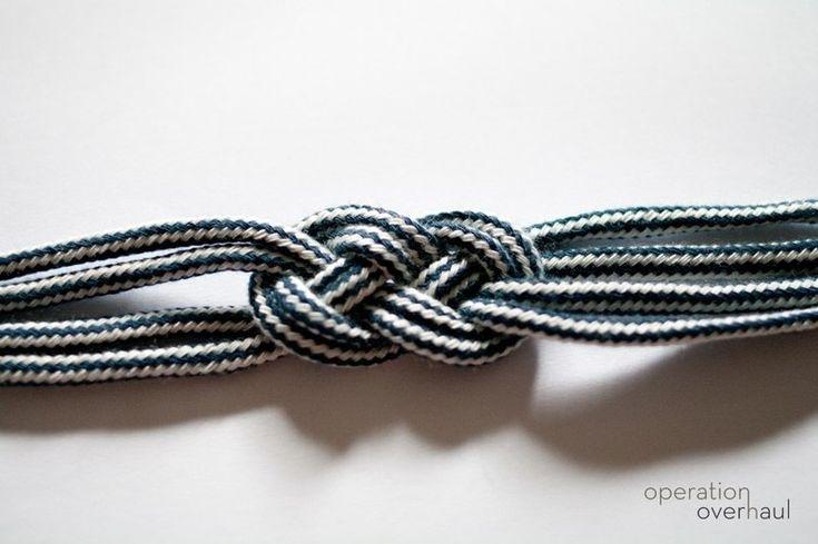 How to make a rope bracelet. Nautical Rope Bracelet - Step 9