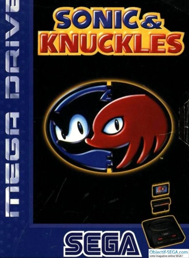 Sonic & Knuckles - Sega Megadrive / Genesis