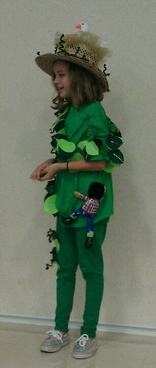 Jack & the Beanstalk Costume ... Goose/Golden Egg Hat