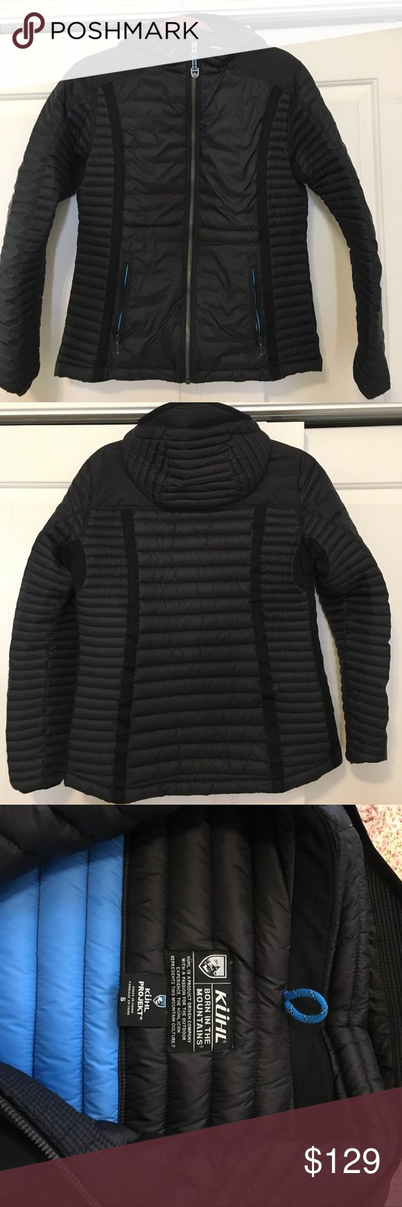 Kühl Spyfire Hooded Down Jacket Great down jacket from Kühl. Great condition only worn once so it looks like new. Kuhl Jackets & Coats Puffers