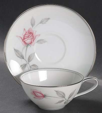 Noritake Rosemarie my favorite design for fine china.