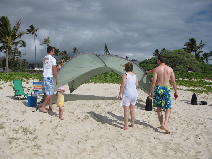 ALPS Mountaineering Tri Awning In Hawaii