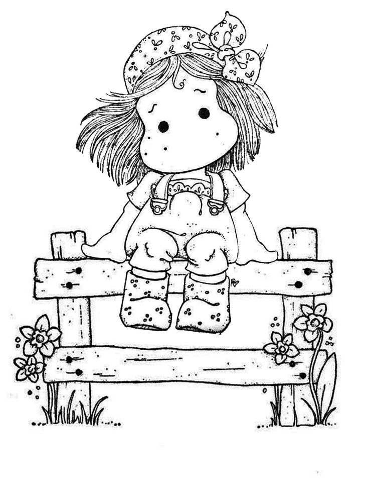 magnolia stamps coloring pages - photo#31