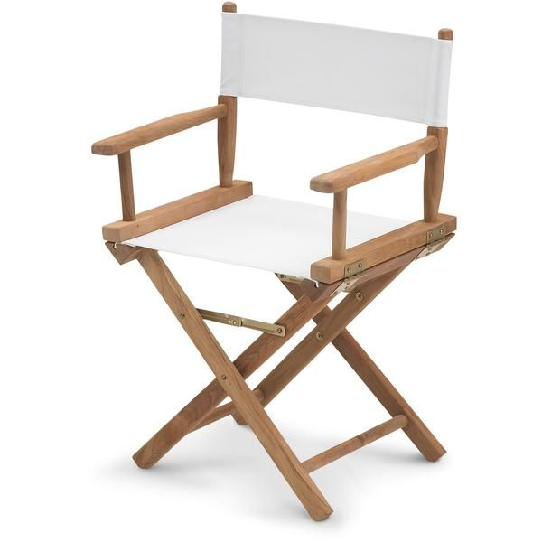 Skagerak Director S Chair Teak Canvas Regiestuhl Aussenmobel