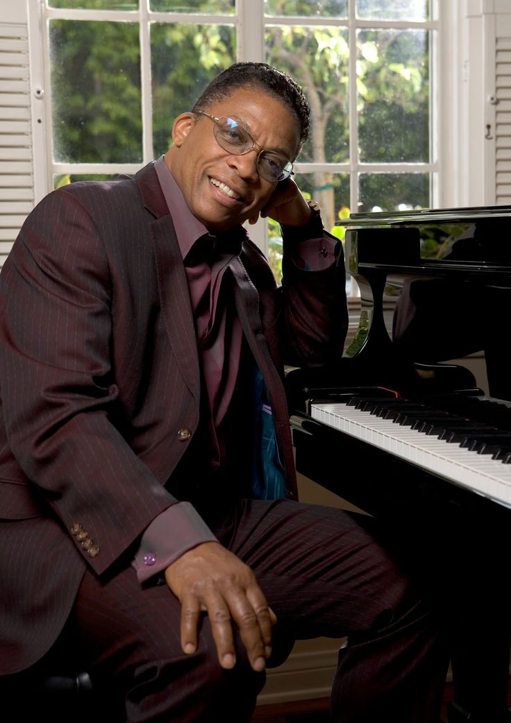 The legendary Herbie Hancock visited for a CES at Frostburg State University performance in 2003