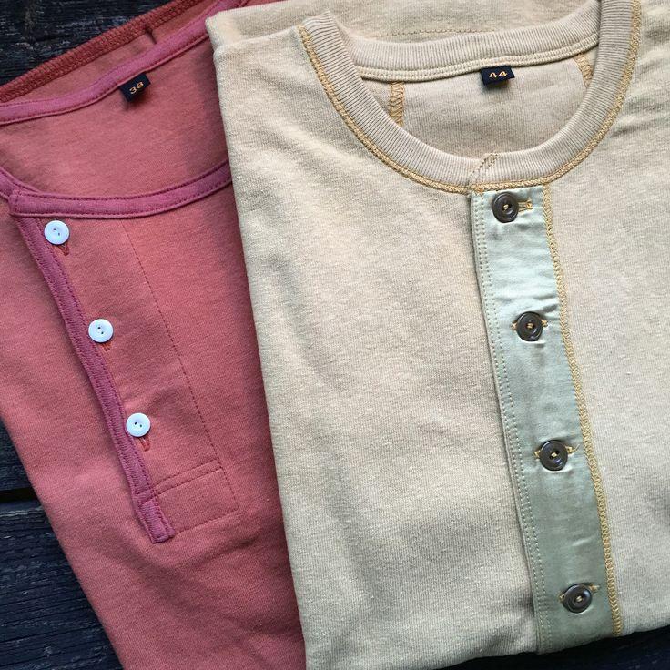Freewheelers Henley's. (made in japan, desolation row, union special, power wear)