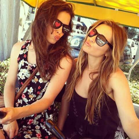Charlie Cox's girlfriend Samantha Thomas (Daredevil ) and the actress Bre Blair (The game of silence)
