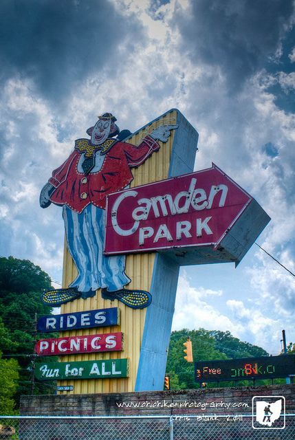 Camden Park Huntington, WV <3 only amusement park in WV. Many great  childhood memories here! <3