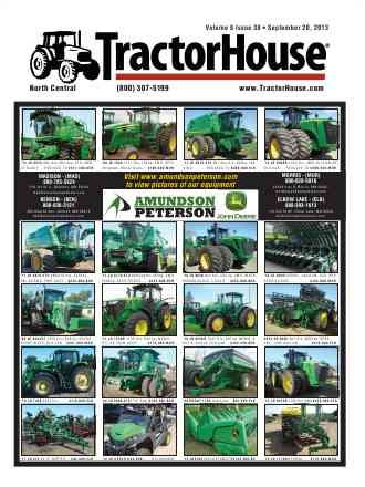 Used Tractors For Sale at TractorHouse.com: John Deere Tractors, used farm tractors and farm equipment, tractors for sale, Case IH, New Holl...