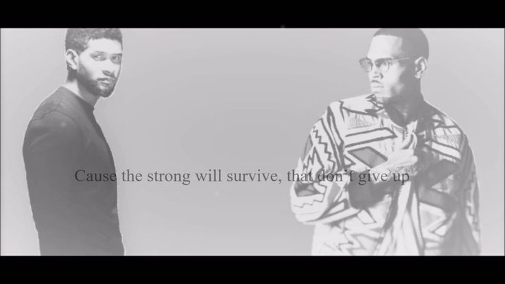 Usher ft. Chris Brown - All Falls Down Lyrics HD