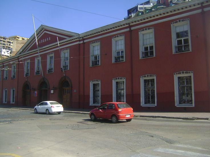 Aduana, Valparaiso