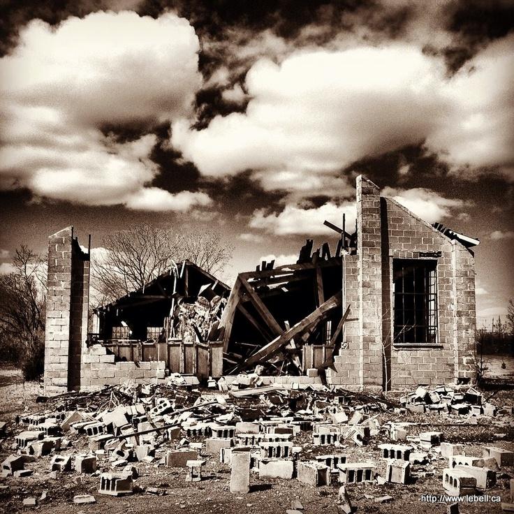 Building Decay In Deseronto, Ontario