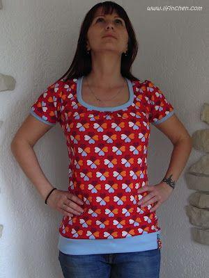 Shirt Shelly (farbic: Glücksklee from Hamburger Liebe)