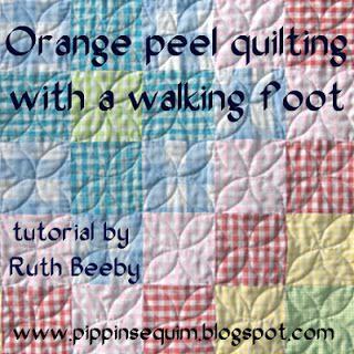 Tuto orange peels (pelures d'orange)