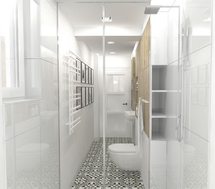 17 Best Ideas About Narrow Bathroom On Pinterest