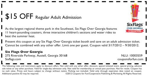 Where can i get six flags discount coupons