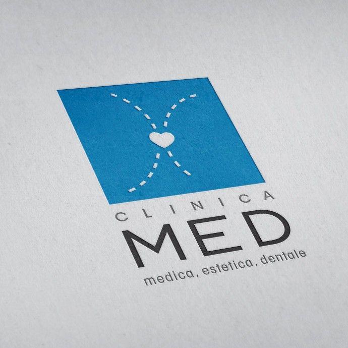 Logo Clinica M.E.D. #logotype #brandidentity #brandimage #corporateidentity #casestudy #GRAFFIOBrand