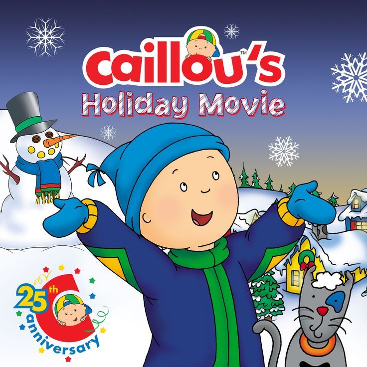 Get Ready to Dance - Caillou's Holiday Movie Soundtrack is Now Available on iTunes!!