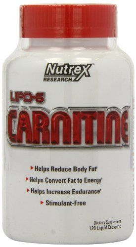 Product review for Nutrex Lipo 6 Carnitine, Liquid Capsules, 120 Count -  L-Carnitine plays an important metabolic role in fat burning and energy production. Scientific research has demonstrated that L-Carnitine assists your body in converting fat to energy. L-Carnitine helps to tap into your body's fat supply by providing support to have fatty acids transported... -  http://www.bestselleroutlet.net/product-review-for-nutrex-lipo-6-carnitine-liquid-capsules-120-count/