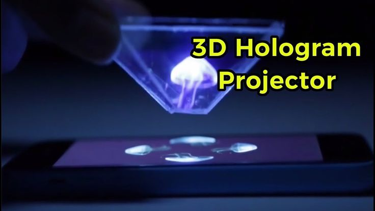 How to make 3D hologram video projector quickly