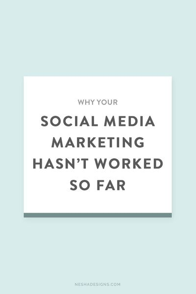 Here's why your #socialmedia marketing hasn't worked so far - #connection is key: http://neshawoolery.com/blog/why-your-social-media-marketing-hasnt-worked-so-far?utm_content=buffer3c1a9&utm_medium=social&utm_source=pinterest.com&utm_campaign=buffer (via Nesha)