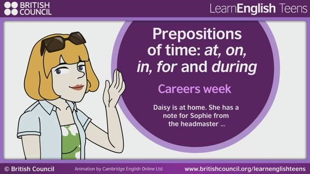 Adjectives & Prepositions | LearnEnglish - British Council