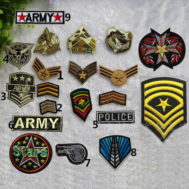 New to craftapplique on Etsy Air Force patches army patch