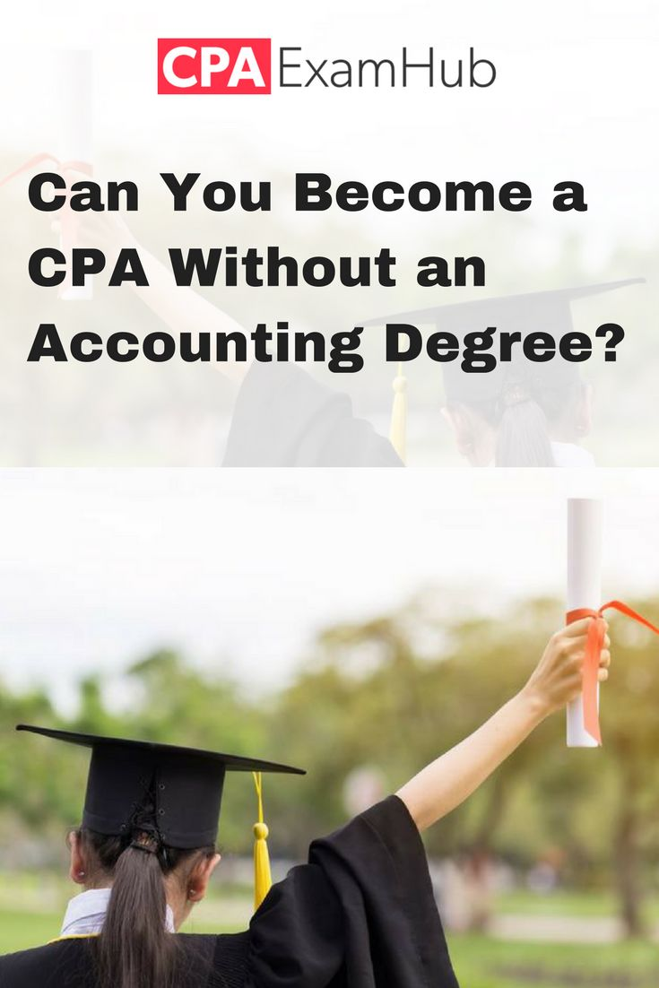 Is it possible to become a CPA without an accounting ...