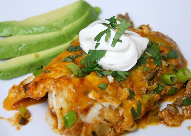 Paleo Shredded Beef Enchiladas