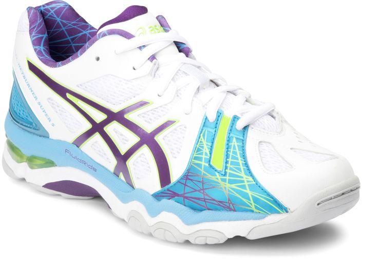 Pawley Sports Pty Ltd - ASICS Gel-Netburner Super 5 Netball Shoes White/Coral Purple/Lake Eyre, $185.00 (http://www.mikepawleys.com.au/asics-gel-netburner-super-5-netball-shoes-white-coral-purple-lake-eyre/)
