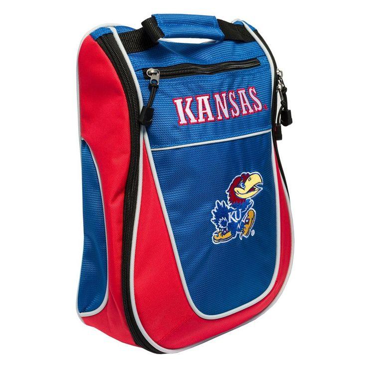 Team Golf Kansas Jayhawks Golf Shoe Bag, Multicolor