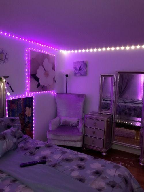 2020 Lighting Inspiration Neon Bedroom Neon Room Bedroom Decor
