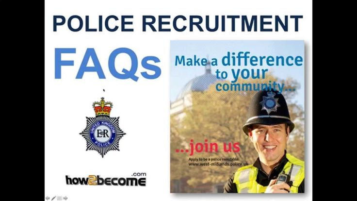 Police Officer Recruitment Frequently Asked Questions with answers on preparing to go through the UK police selection process, including advice on height restrictions, criminal convictions and cautions and also the age/eligibility for becoming a police officer