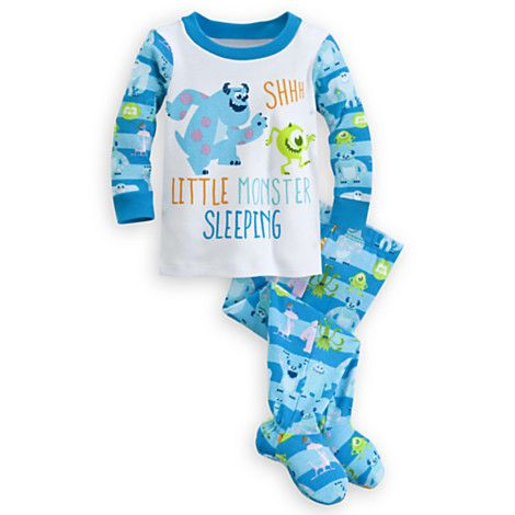 Monsters University Footed PJ PALS for Baby