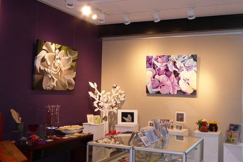 Louise Taylor under the spotlight at the Tableland Regional Gallery shop