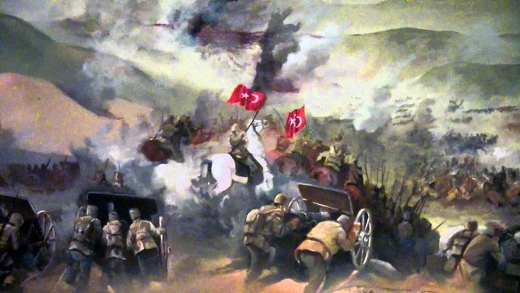 Charge of the Turkish cavalry, Turkish War of Liberation