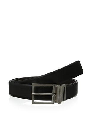 44% OFF Calvin Klein Men's Reversible Feather Edge Strap Belt (Black/brown)