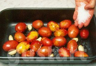 Lajos Mari konyhája - Héjában sült újkrumpli