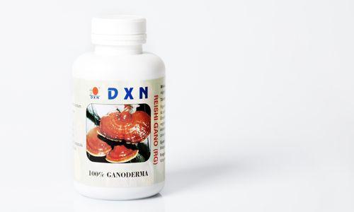 Il Ganoderma RG della DXN è estratto dal fungo di 90 giorni. Il suo contenuto di 360 capsule corrisponde ad un dosaggio medio alto per 4 mesi.