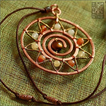 Sun pendant by Solveig - Northern Wind