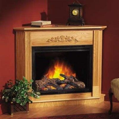 corner electric fireplaces